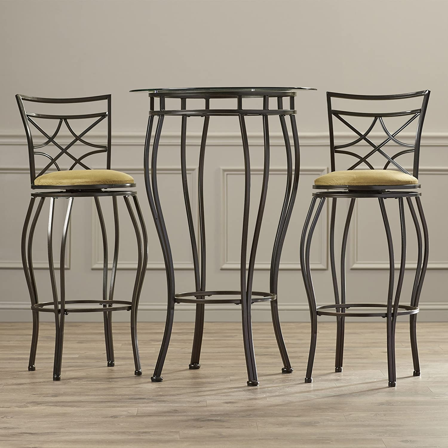Wrought Iron Pub Table Sets