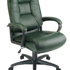 Unique Leather Office Chairs Cheap Vinyl Chair Covers Green Desk Ideas On Foter Deluxe High Back Executive