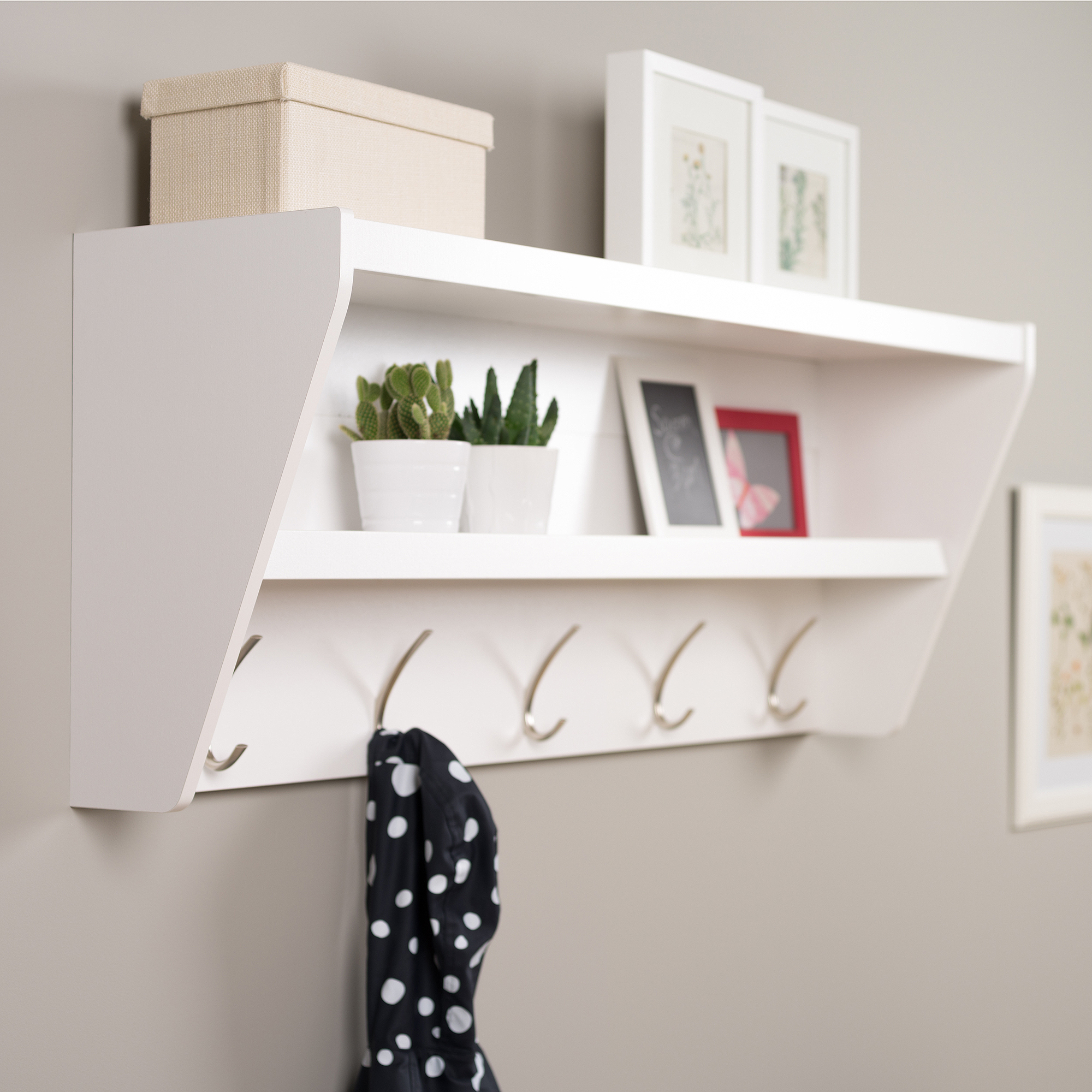 shelf and coat rack ideas on foter