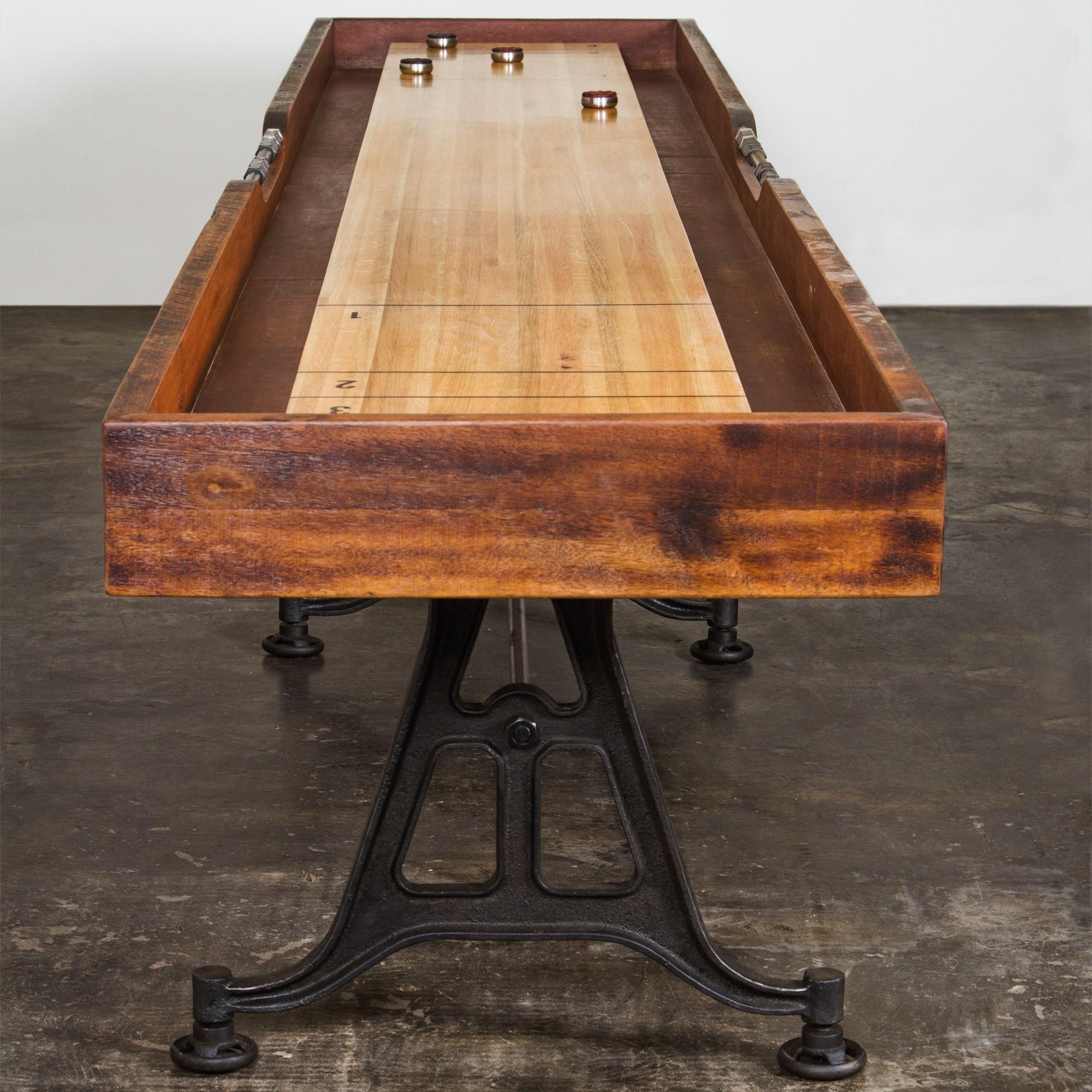 Vintage Shuffleboard Table