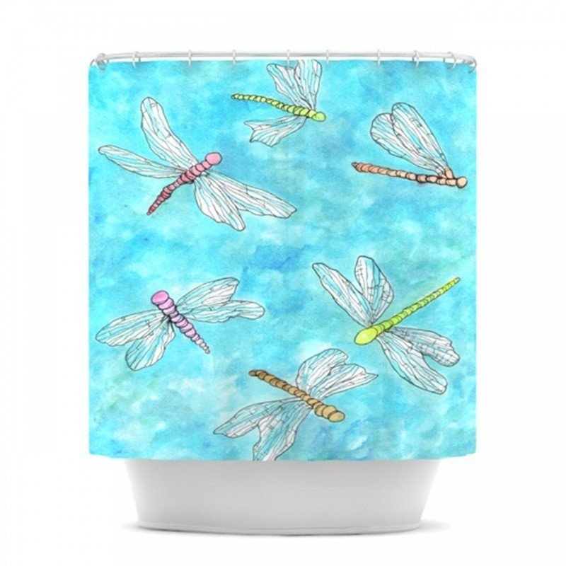 dragonfly shower curtain ideas on foter