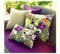 Purple Patio Cushions - Foter