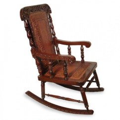 Antique Wooden Rocking Chairs Sofa Mart Ideas On Foter Cedar Wood Chair