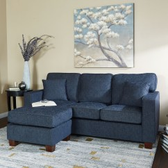 Denim Living Room Furniture Dining Ideas On Foter Contemporary Solid Wood Reversible Sectional Sofa