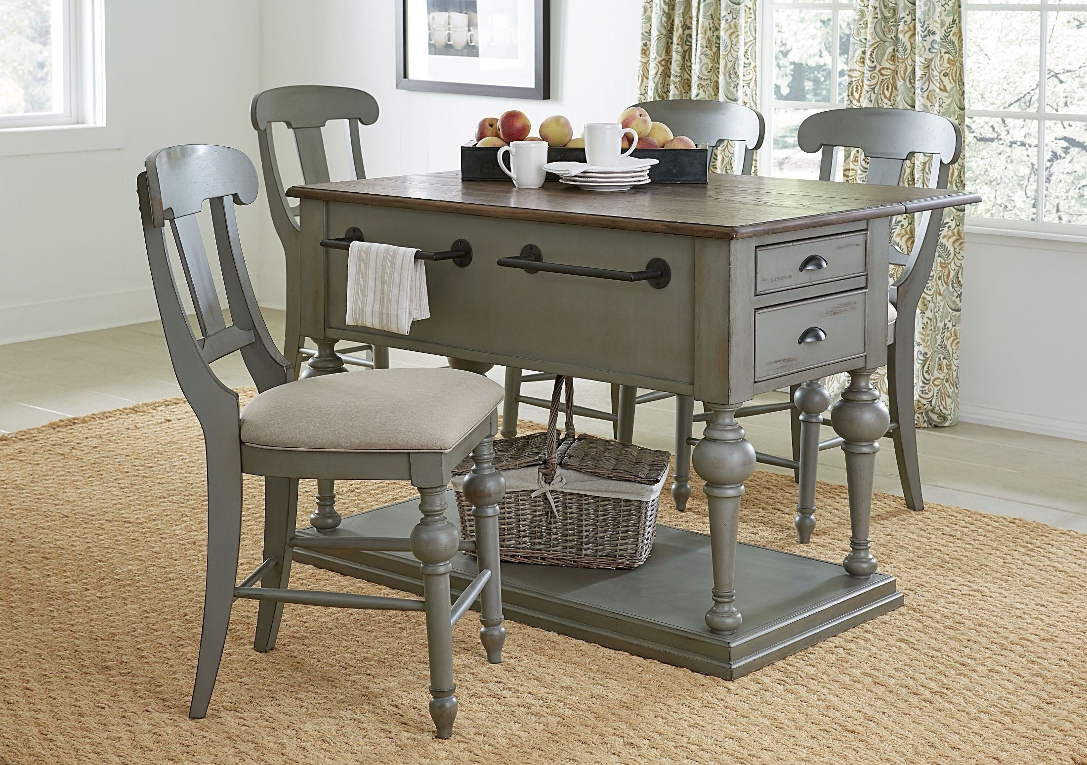 kitchen console kitchens on finance bad credit drop leaf island table ideas foter gray manufactured oak wood