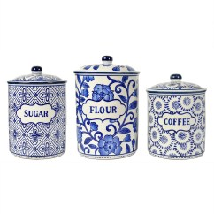 Kitchen Canister Country Lighting Unique Canisters Sets Ideas On Foter Old Fashioned Labeled