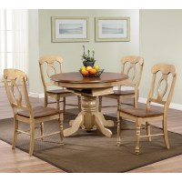 Round Dining Table With Leaf Extension