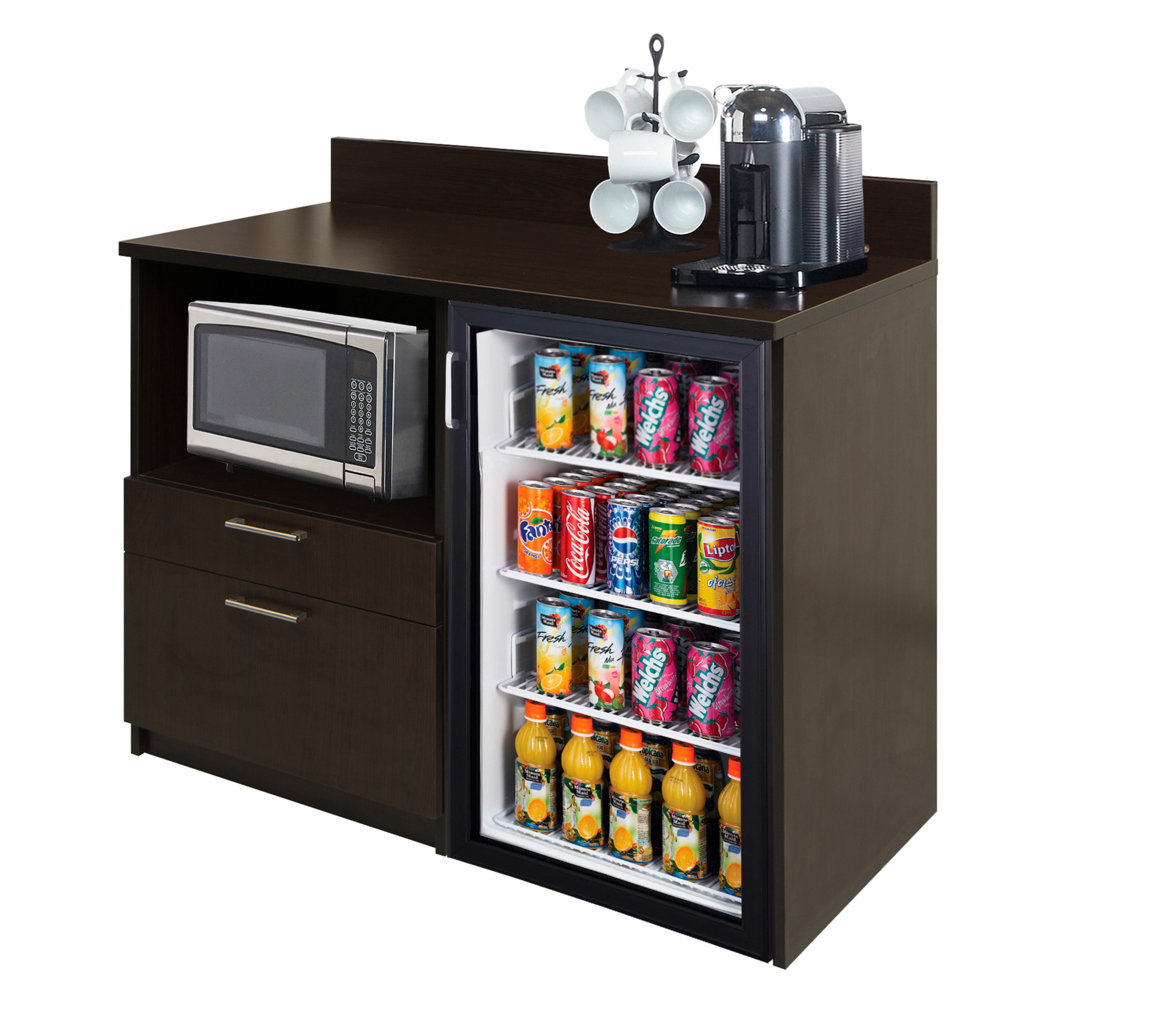home bar furniture with fridge ideas