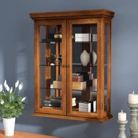 Glass Wall-Mounted Cabinets - Foter