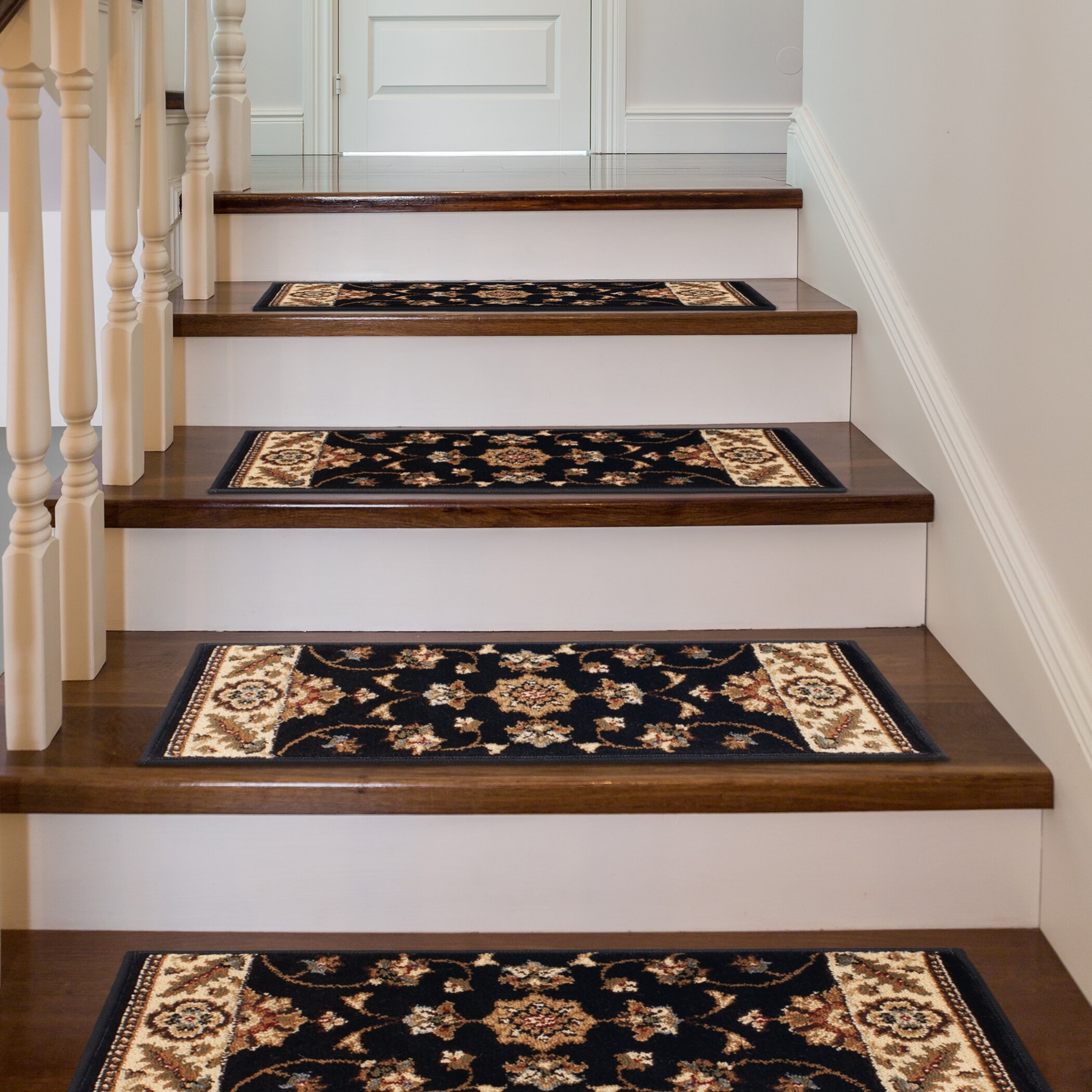 Stair Tread Rugs For 2020 Ideas On Foter   Oriental Rug Stair Treads   Flooring   Amazon   Non Slip   Bullnose Stair   Kings Court