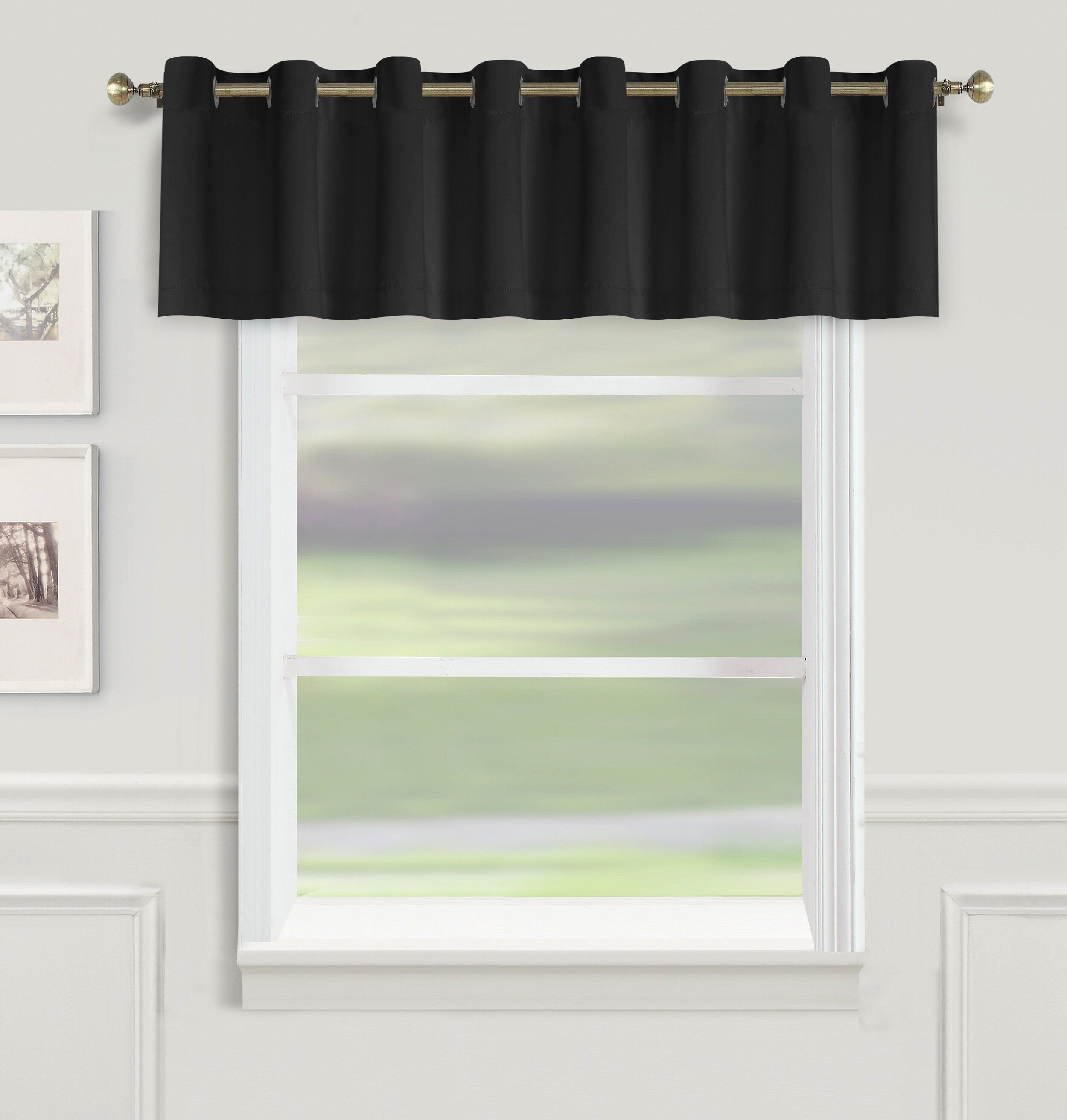 choose valances and kitchen curtains