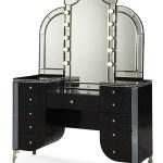 Black Vanity Desk With Mirror Ideas On Foter