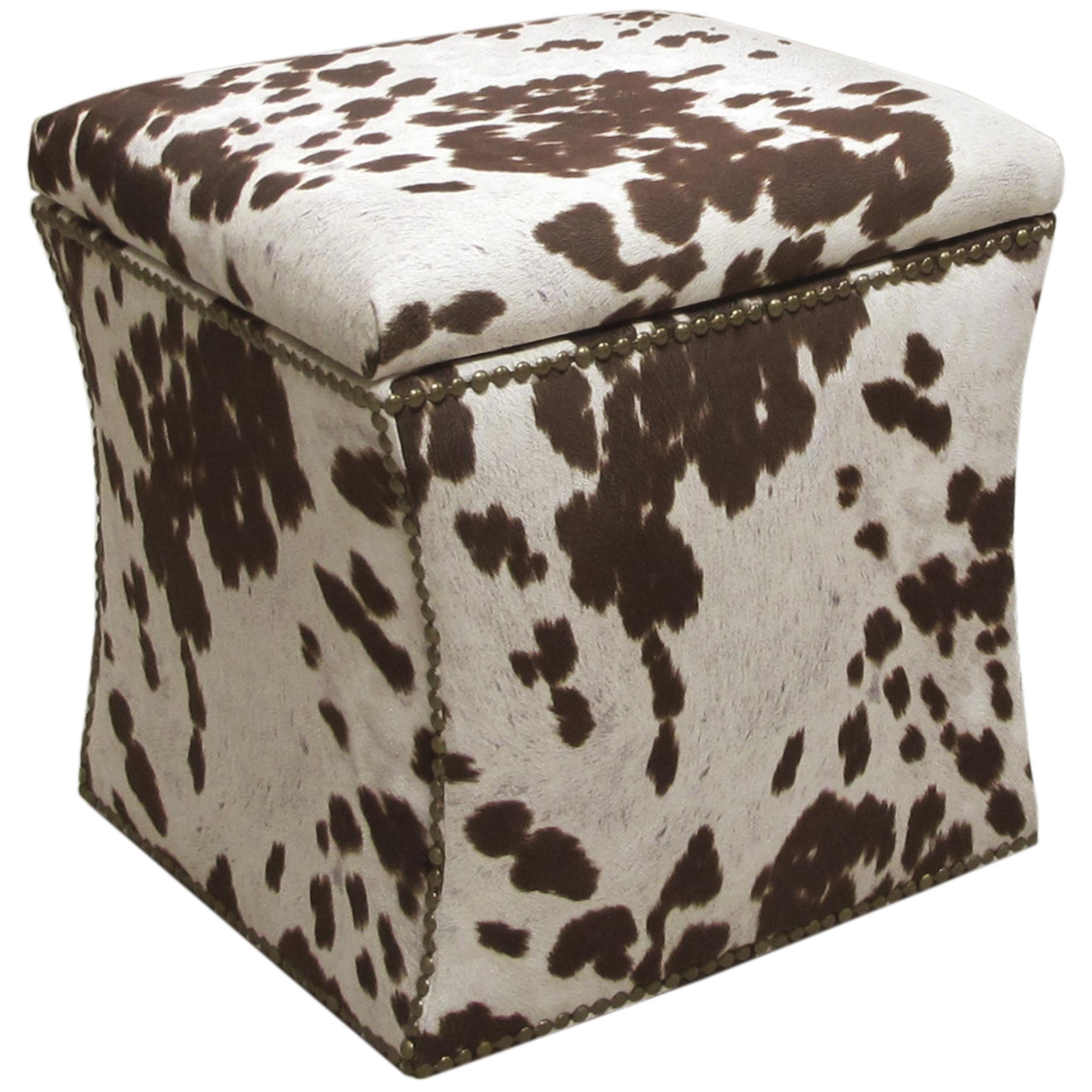 cow print ottoman ideas on foter
