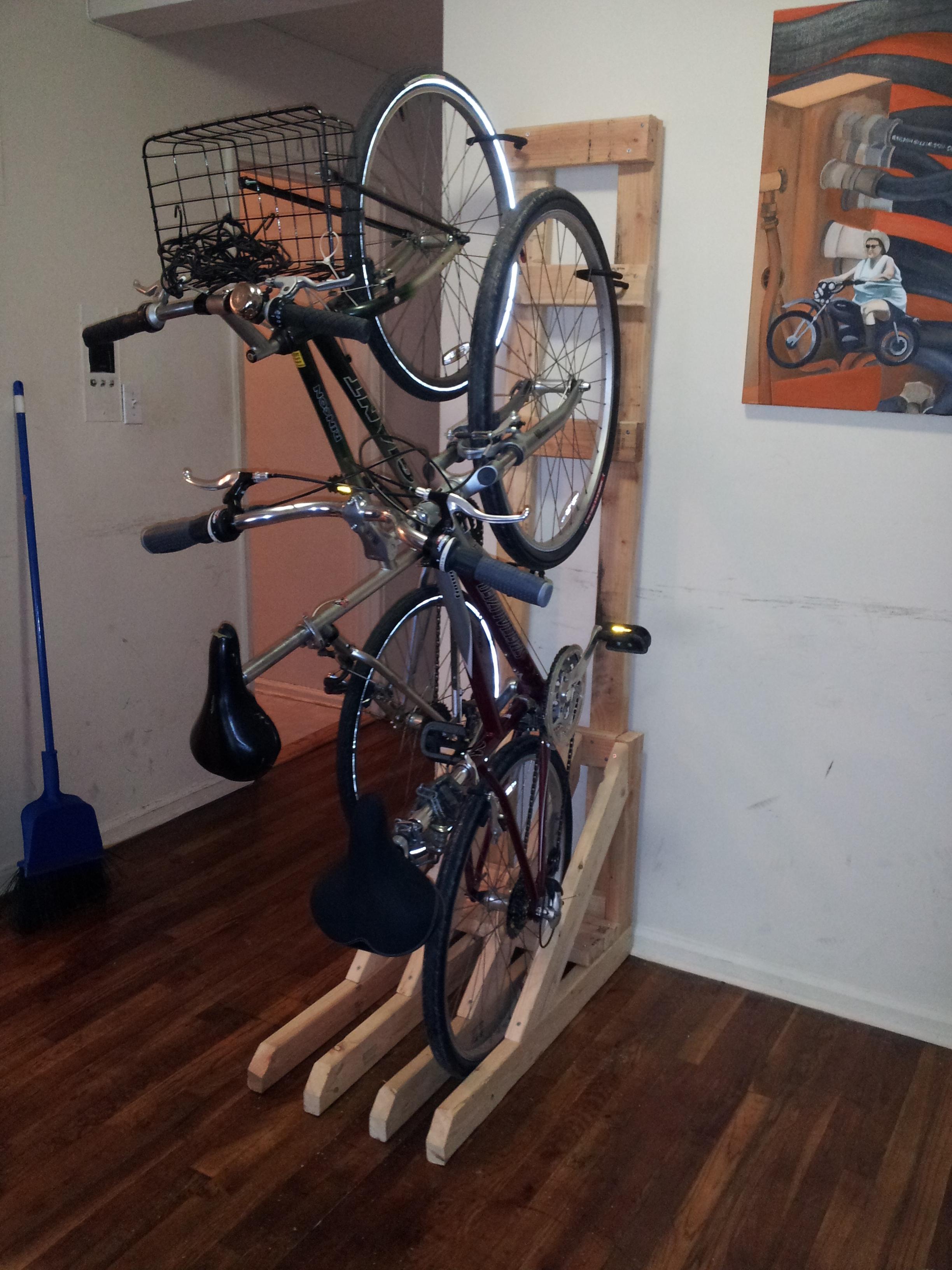 floor standing bike rack ideas on foter