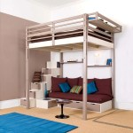 Full Size Loft Bed With Stairs Ideas On Foter