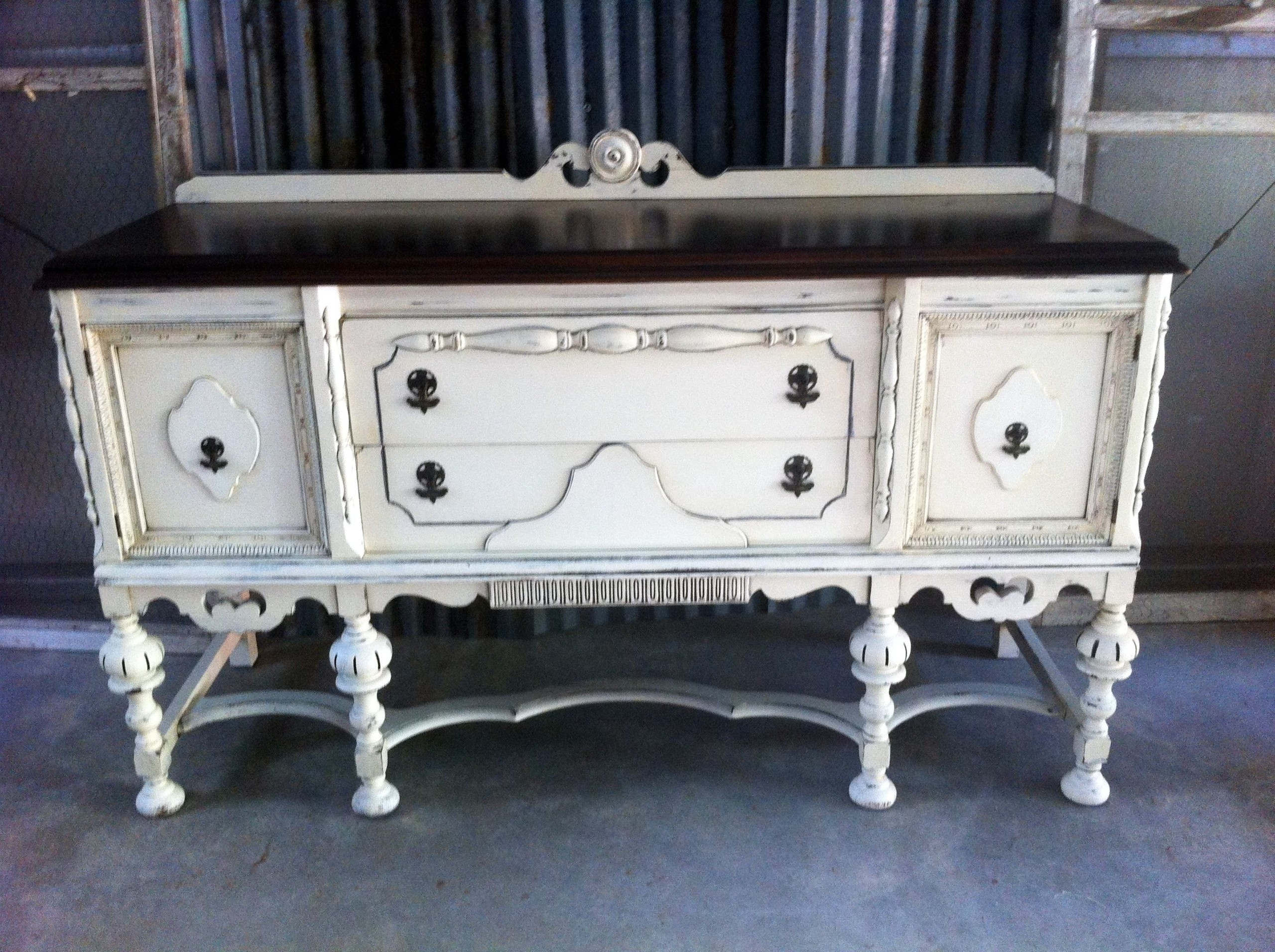 Painted Sideboards And Buffets Ideas On Foter