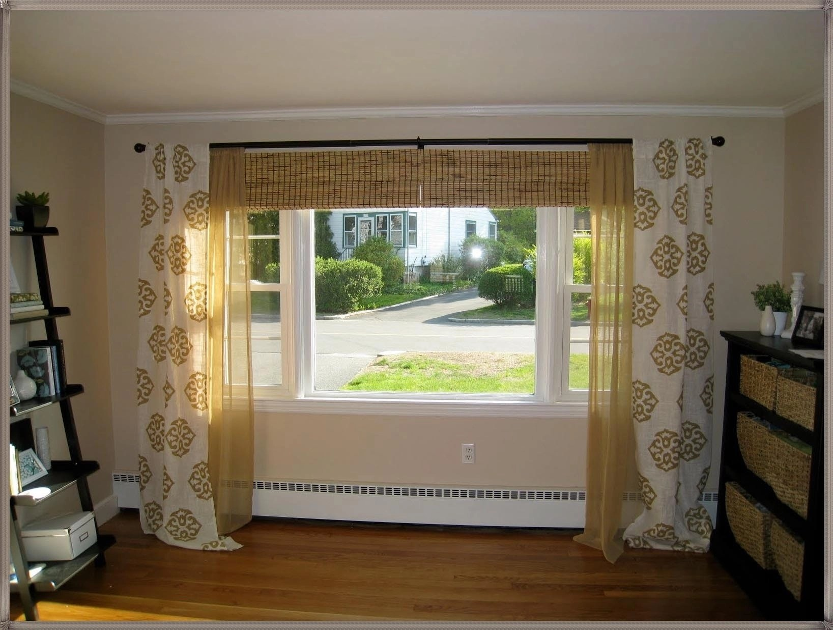 picture window curtains and window