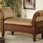 Upholstered Storage Bench With Arms Ideas On Foter