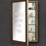 Wood Recessed Medicine Cabinet Ideas On Foter