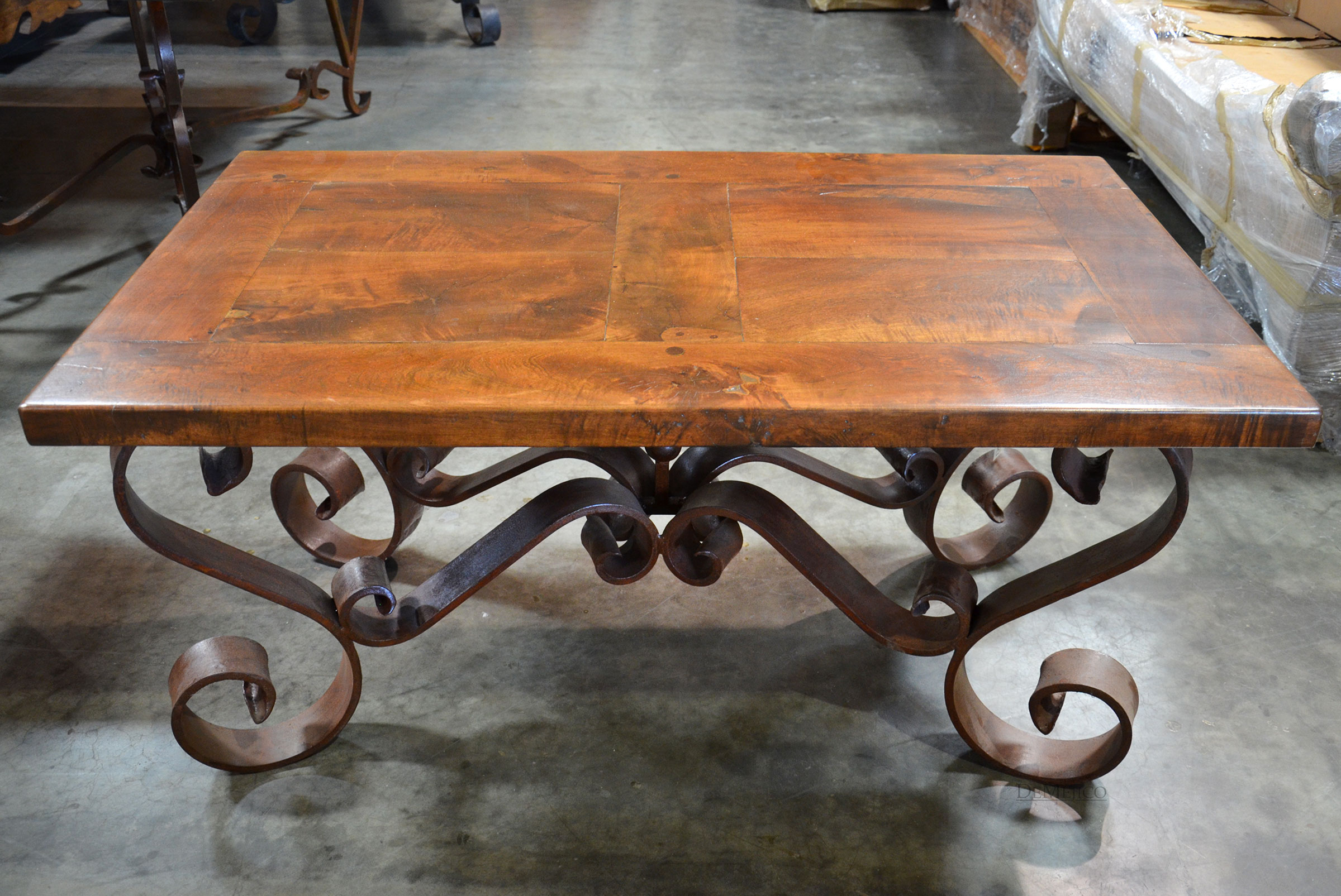 wrought iron coffee tables for sale
