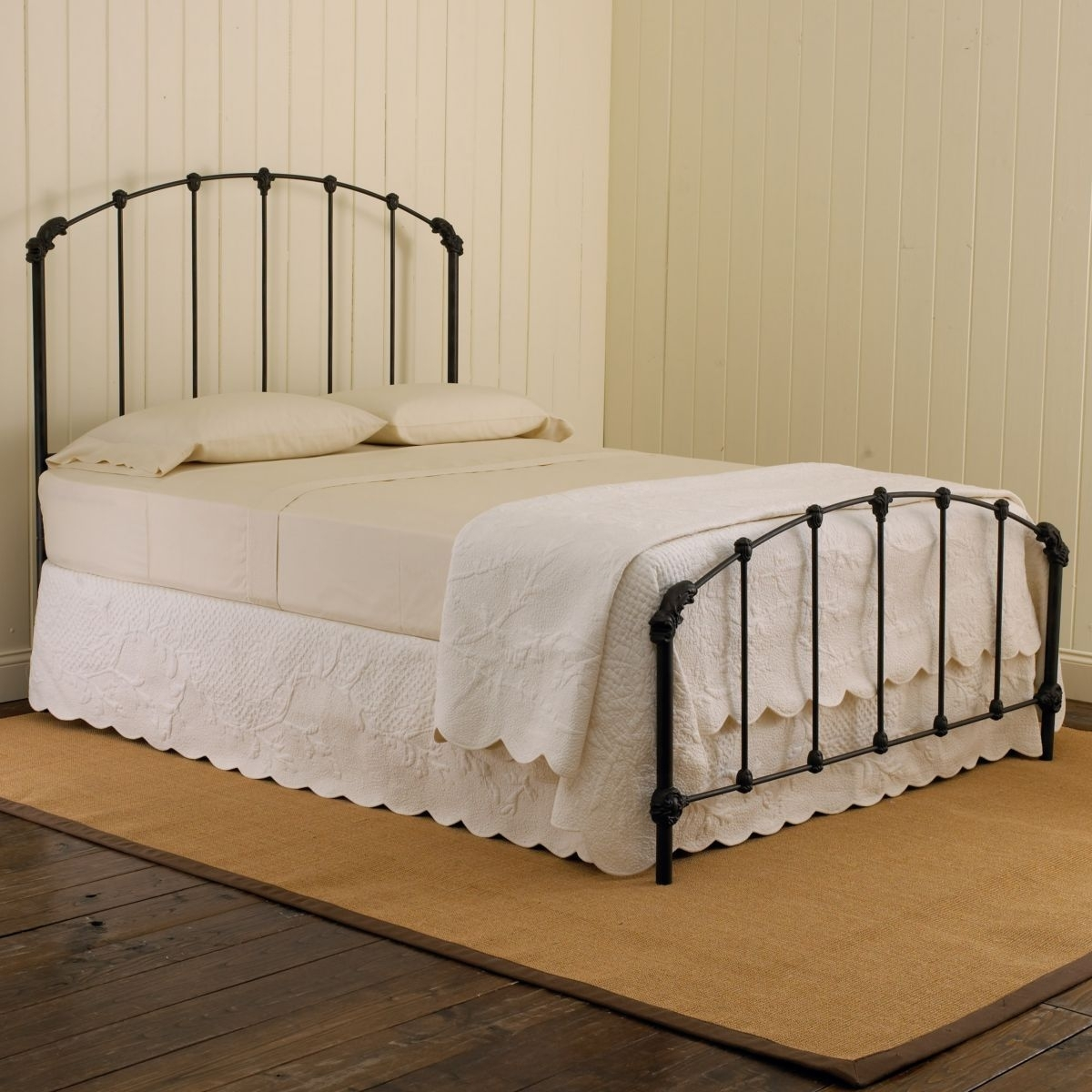 wrought iron twin headboard ideas on