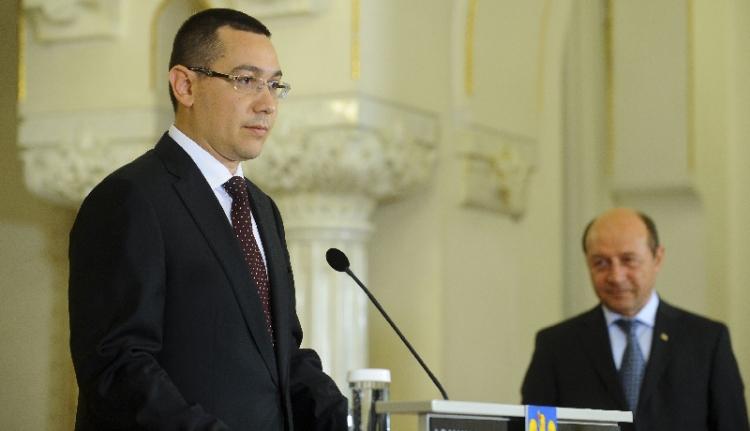 Băsescu megint kiosztotta a kormányfőt