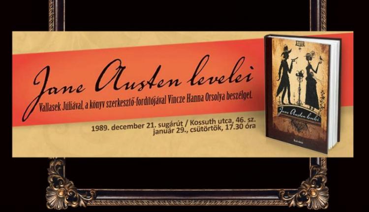 Jane Austen levelezése, első ízben magyarul