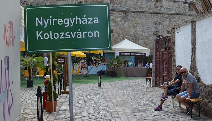 Nyíregyháza három napra Kolozsvárra költözött