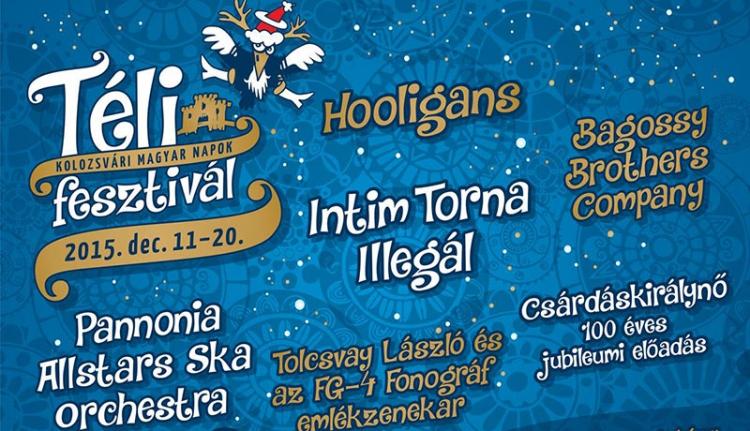 Itt a kolozsvári Téli fesztivál programja