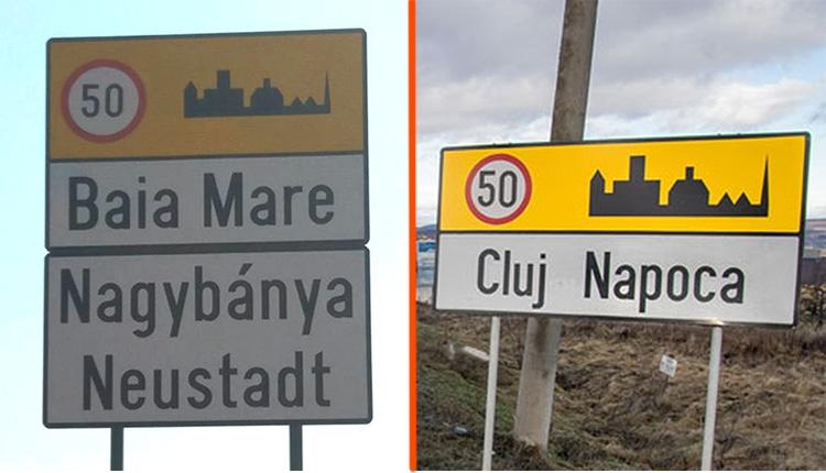Baia Mare lehet Nagybánya, de Cluj-Napoca nem lehet Kolozsvár