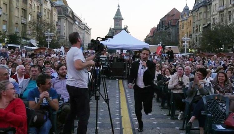 """""""Ha nem születtem volna Temesváron, akkor is idejönnék"""" (VIDEÓ)"""