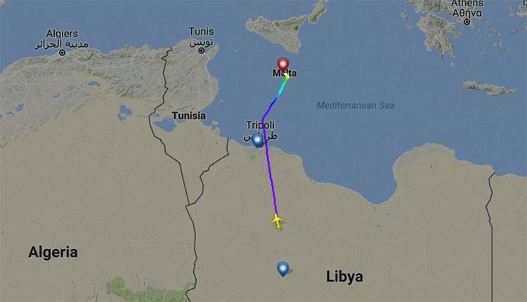 Eltérítettek egy líbiai repülőgépet 118 személlyel a fedélzetén