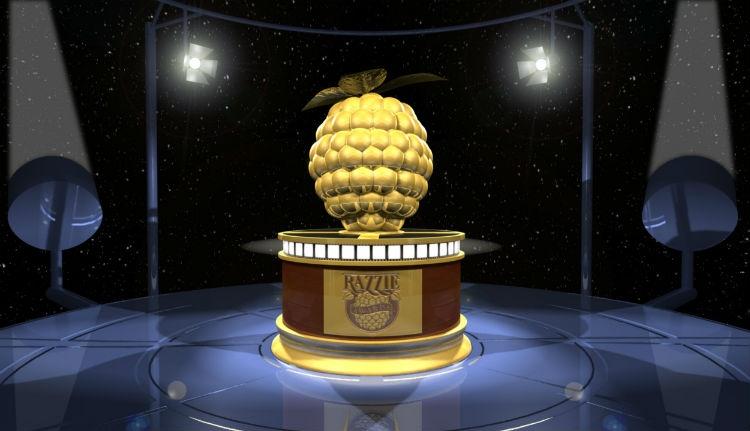 Kiosztották az idei Arany Málna-díjakat