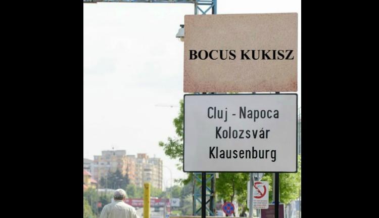 Máris lefestették a három-, nem, négynyelvű táblákat Kolozsváron!