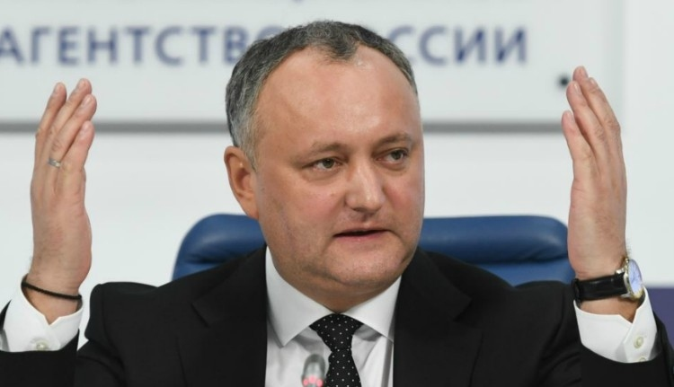 Igor Dodon: Románia háborút akar