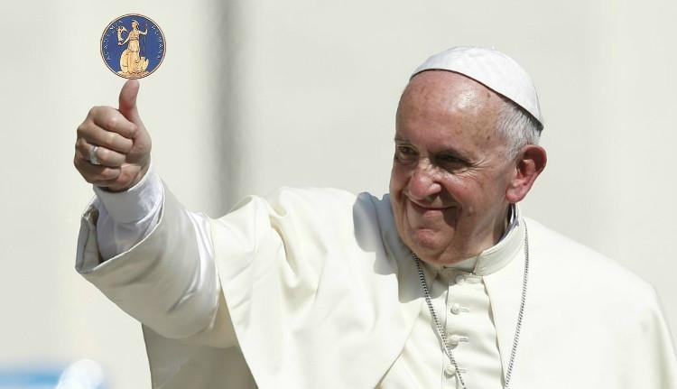 A Román Akadémia tiszteletbeli tagja lesz Ferenc pápa