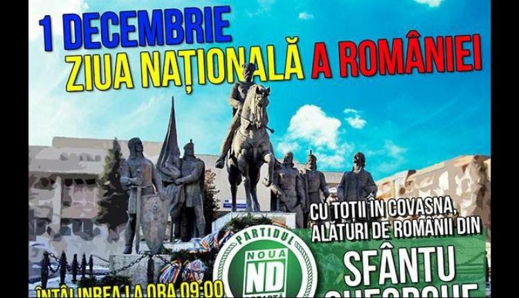 Az Új Jobboldal minden jó románt és székelyt szeretettel vár Sepsiszentgyörgyre
