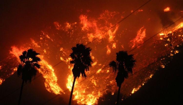 Így lángol Kalifornia (VIDEÓval)