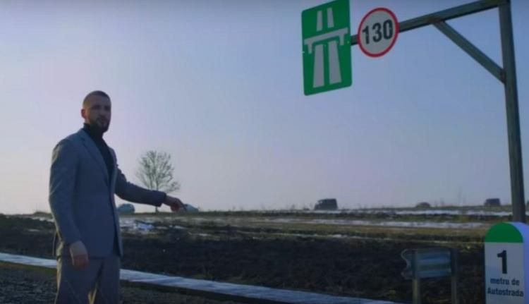Saját zsebből építette meg az első méter (!) autópályát Moldvában egy fiatal vállalkozó (VIDEÓ)