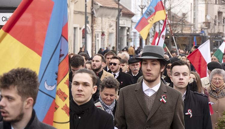Éljen a magyar szabadság! Éljen a haza! – március 15. Kolozsváron (FOTÓK)