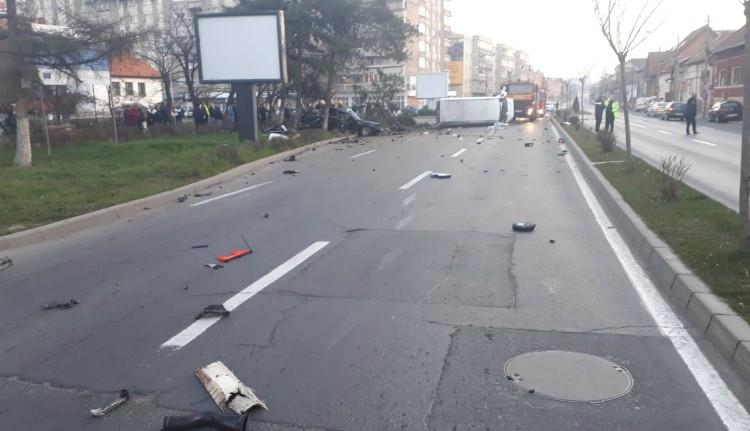 A túlzott sebesség ezúttal Marosvásárhelyen szedett halálos áldozatokat