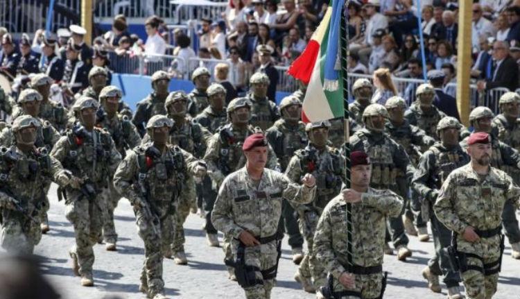 Jól megruházták a románok az olasz hadsereget
