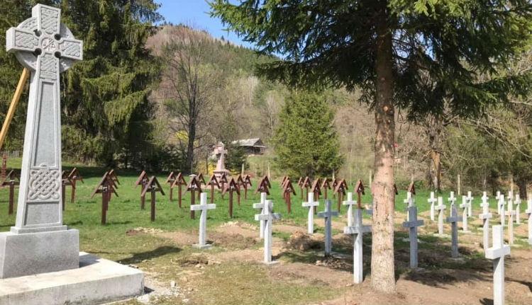 Ez mindennek a legalja: magyar katonai temetőt nyúlnának le Hargita és Bákó megye vitatott határán