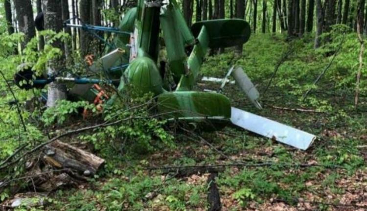Kiderült, honnan érkezett a Máramaros megyében lezuhant titokzatos helikopter pilótája