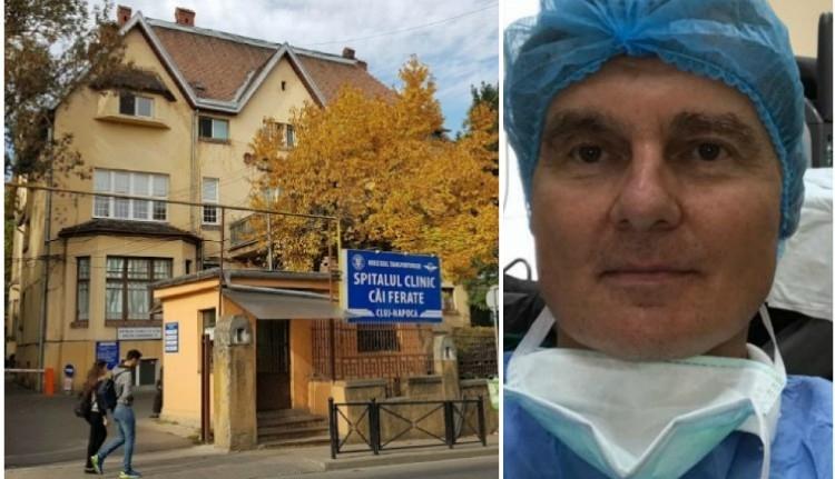 Nevetséges bírsággal végződik a kolozsvári CFR-kórház és a főszemész feleségének különös története
