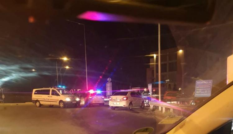 Részeg kiskorú ütött el egy szolgálatban lévő rendőrt Nagyváradon