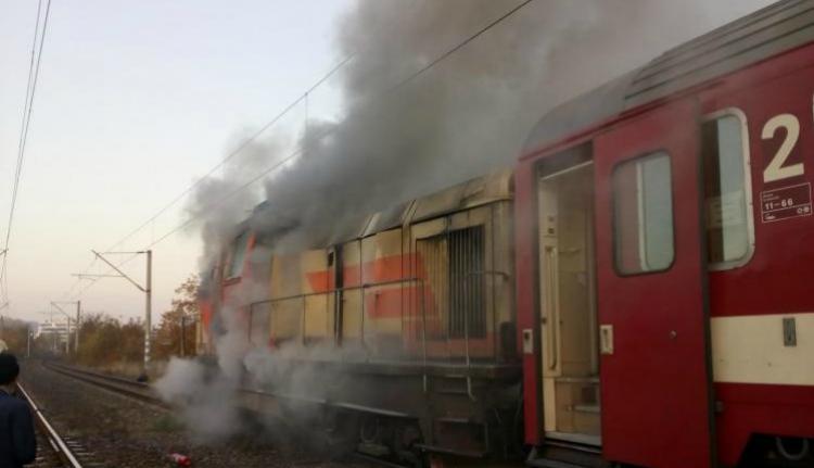 Ez a nap is jól indult a CFR-nél: kigyulladt egy nemzetközi járat mozdonya