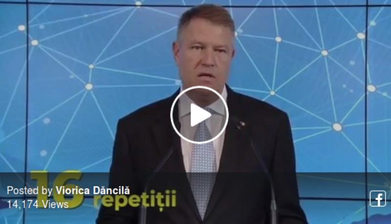 Péntek van, nevessünk Dăncilával: nézze meg, milyen kis vicces videóval szívatja Iohannist a pártasszony