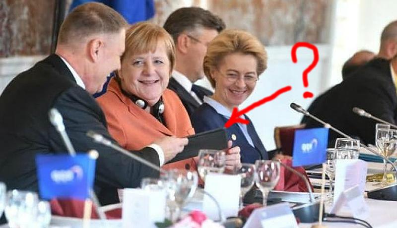 Vajh' mivel ingerli Iohannis elnök az európai nagyasszonyok nevetőizmait?