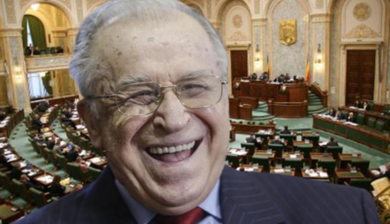 Iliescu ismét szemberöhögheti az országot: a szenátus megmentette a felszámolástól a Román Forradalom Intézetét (FRISSÍTVE)
